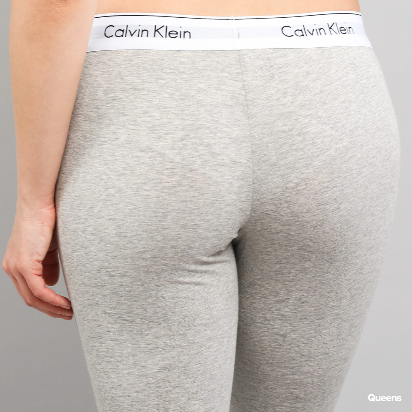 Calvin Klein Legging Pant C/O melange šedé