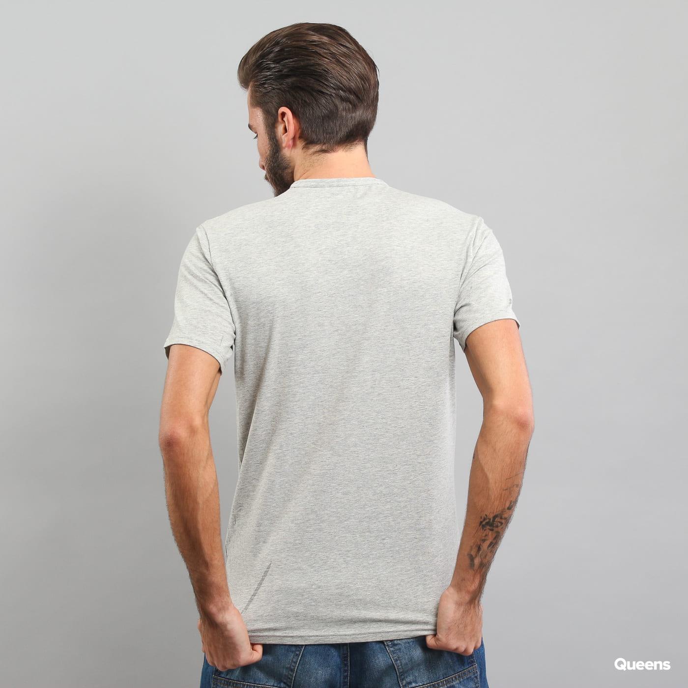 Calvin Klein S/S Crew Neck melange šedé