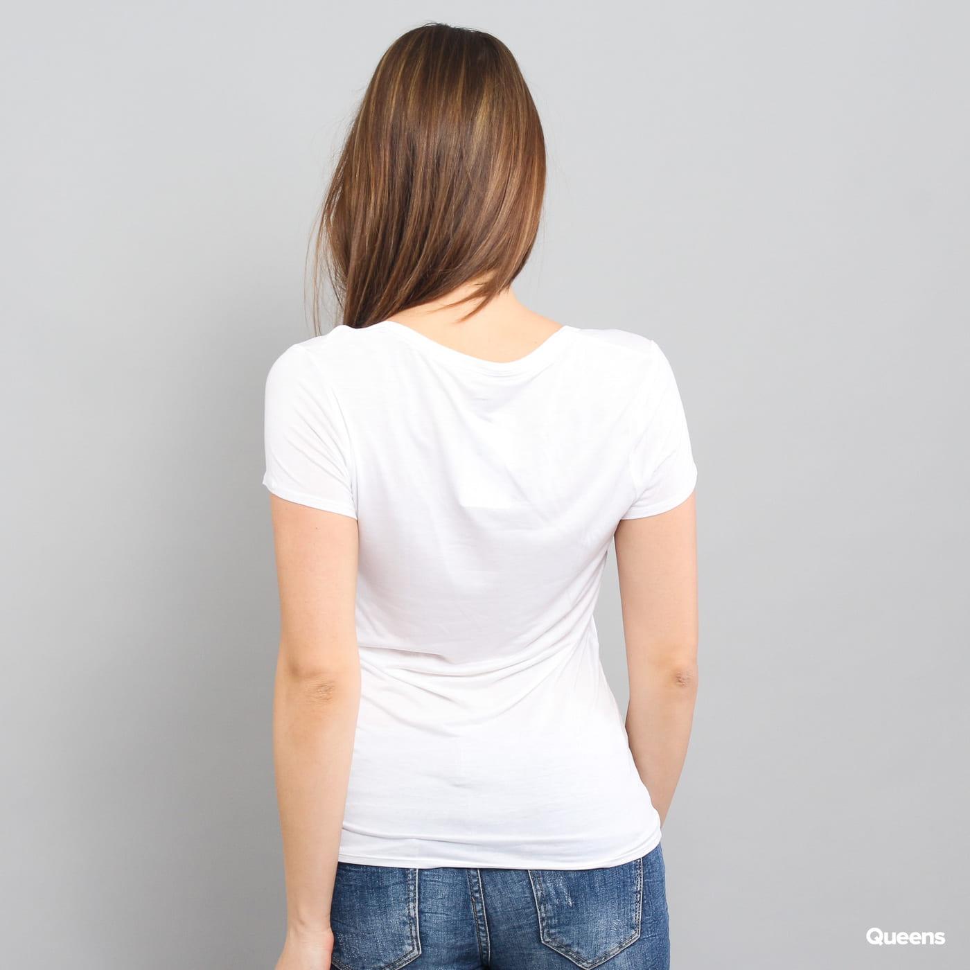 Calvin Klein Top S/S Layering biele