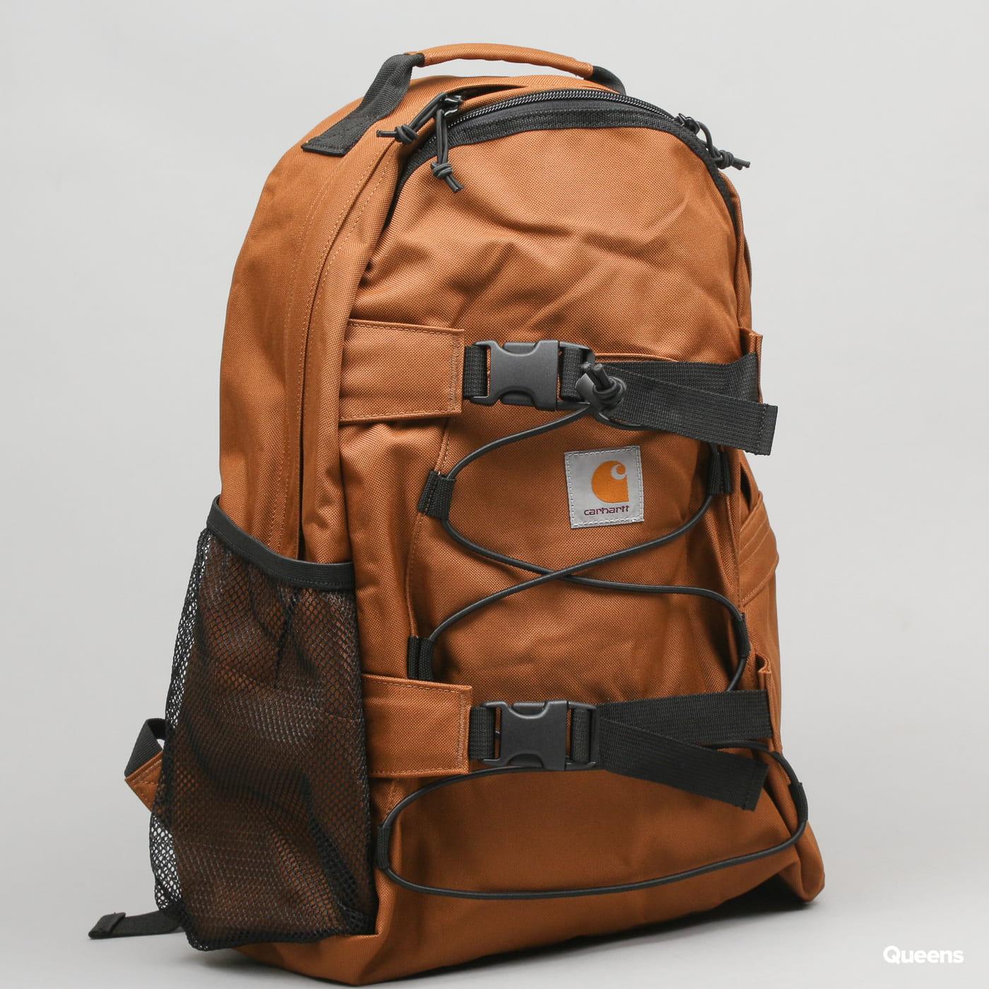 Carhartt WIP Kickflip Backpack braun / schwarz