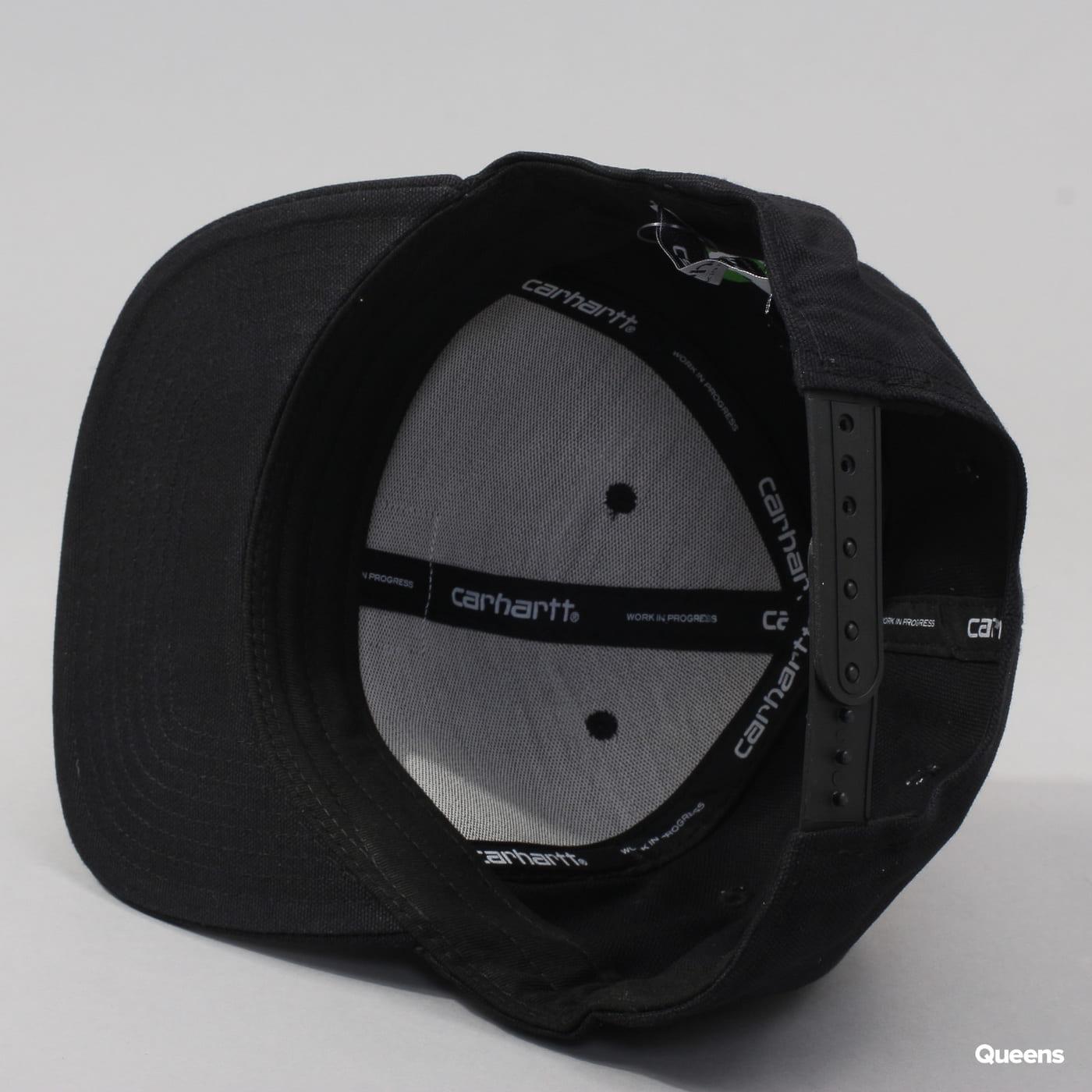 Carhartt WIP Logo Cap schwarz