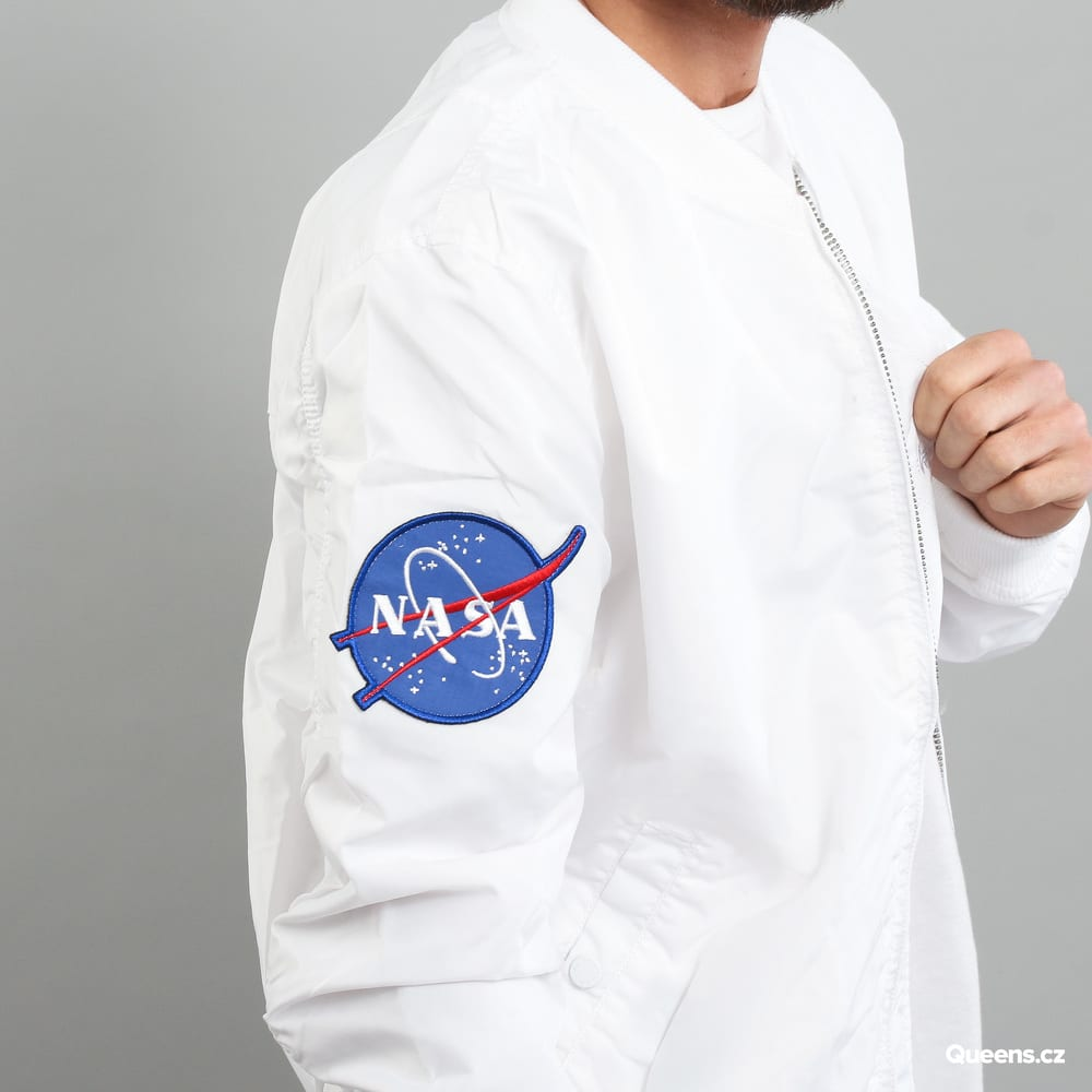 Alpha Industries MA - 1 TT Nasa Reversible white