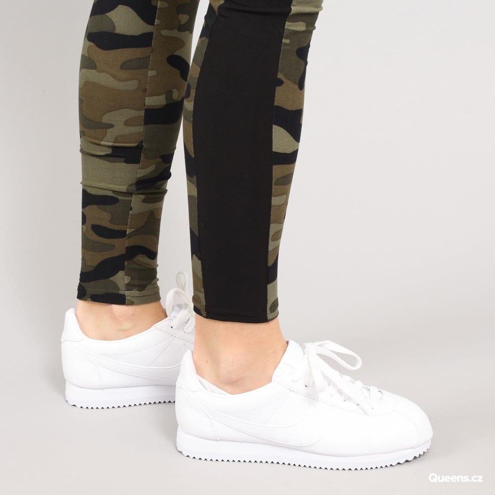 Urban Classics Ladies Camo Stripe Leggings camo grün