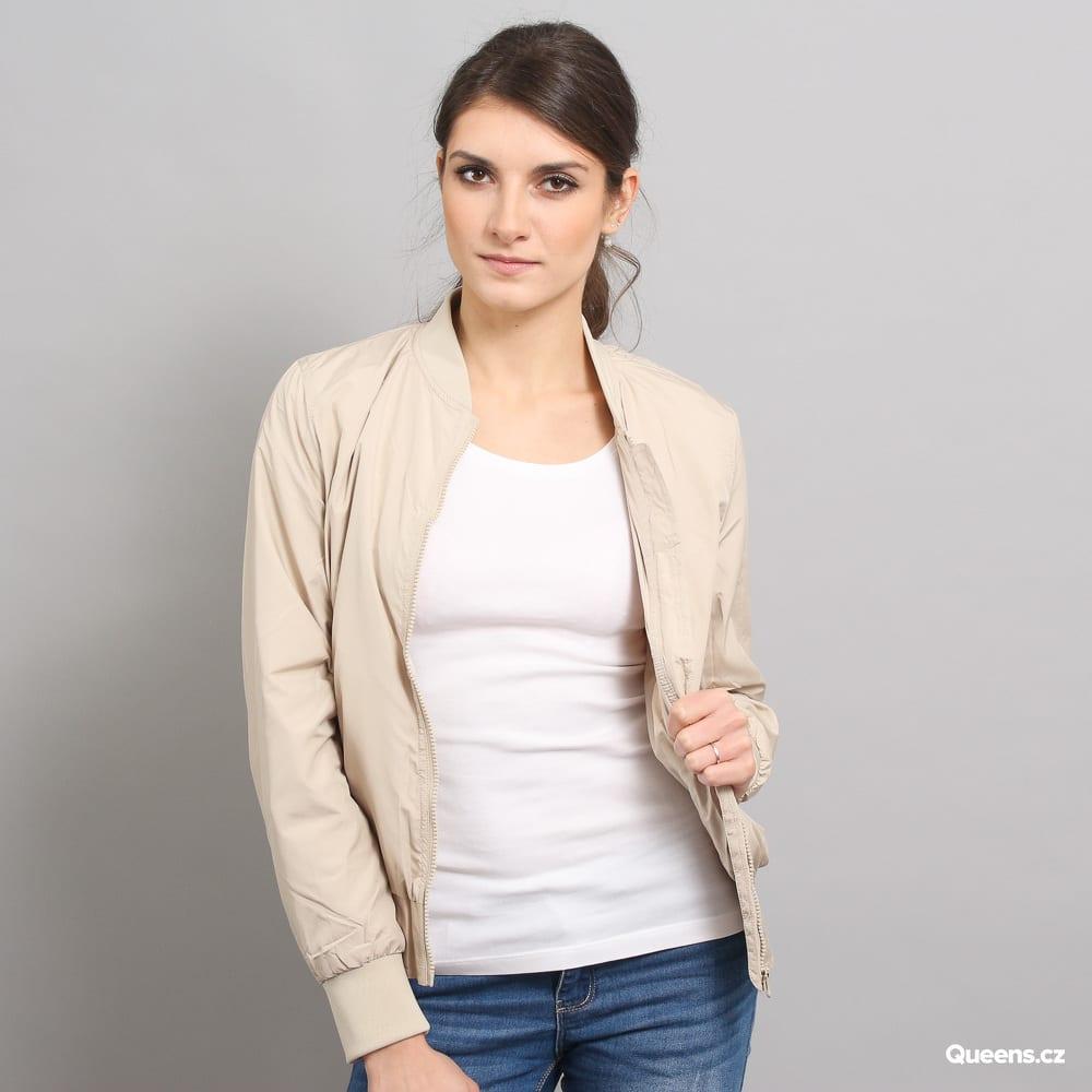 Urban Classics Ladies Light Bomber Jacket beige
