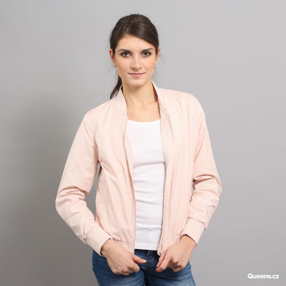 Urban Classics Ladies Light Bomber Jacket ružová
