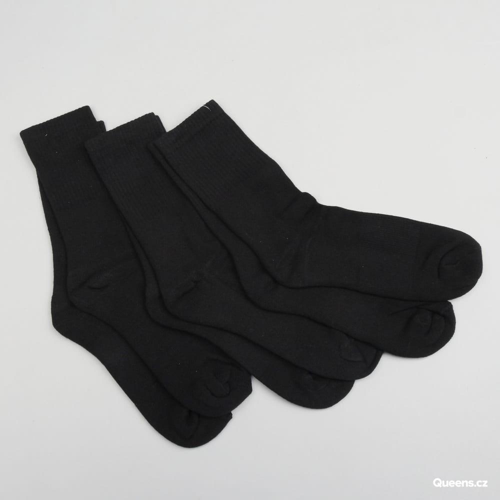 Urban Classics Sport Socks 3-Pack čierne