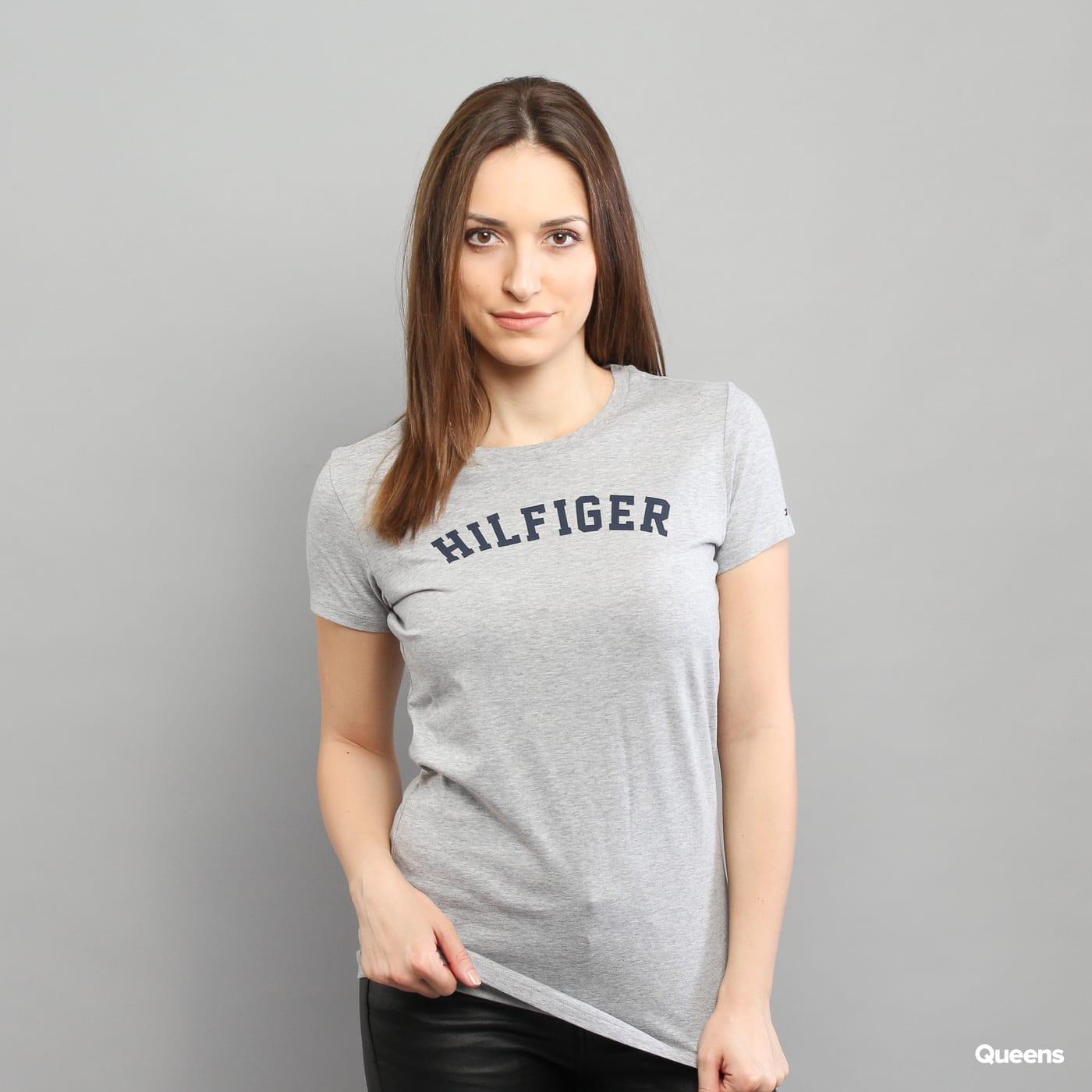 Dámské tričko Tommy Hilfiger SS Tee Print C O (UW0UW00091 004) – Queens 💚 1945c830abf