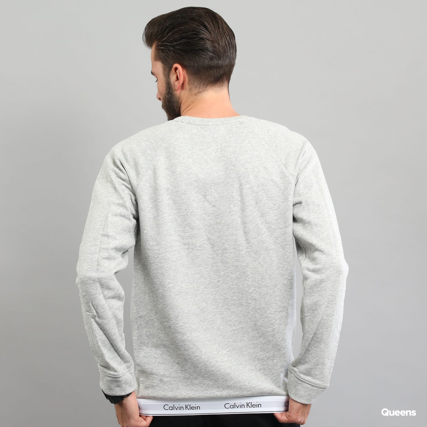 Calvin Klein Sweatshirt C/O melange gray