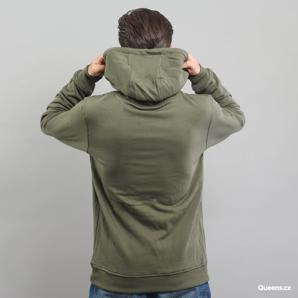 Urban Classics Basic Sweat Hoody olive