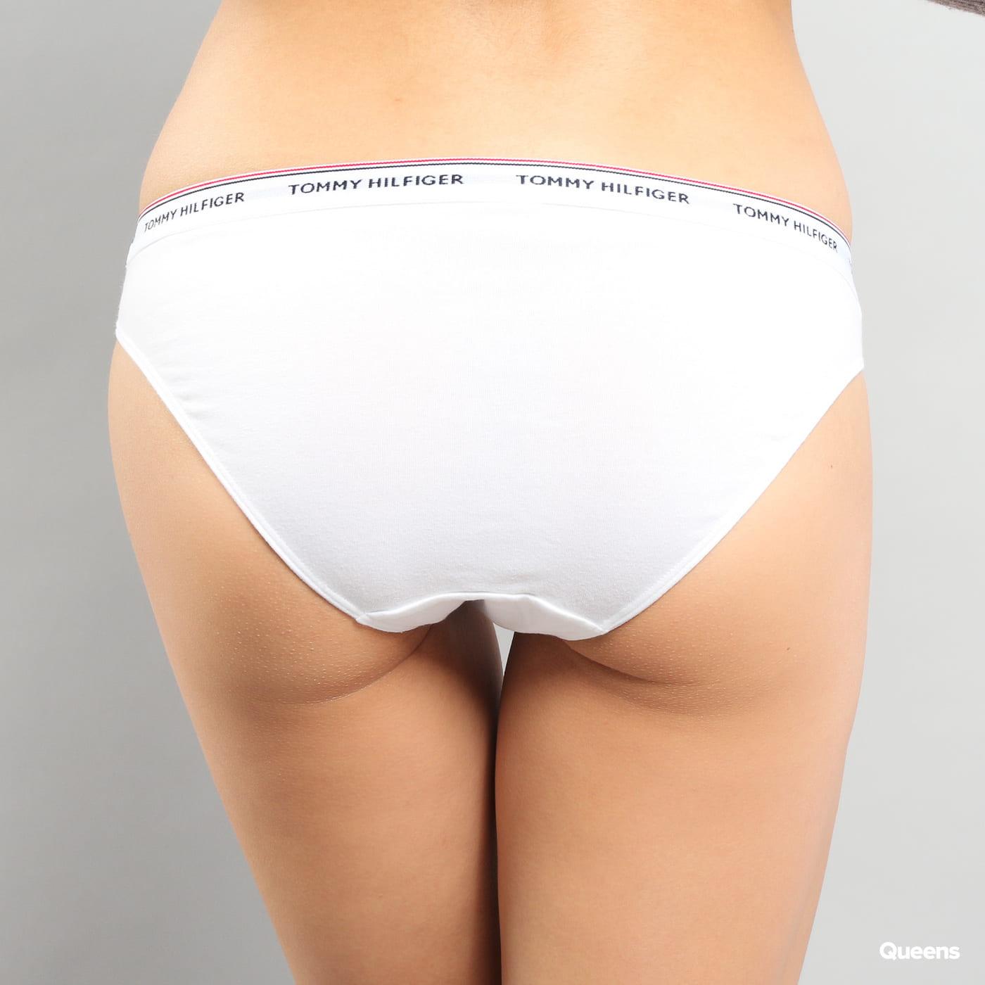 Tommy Hilfiger 3 Pack Bikini - Slip C/O navy / biele / červené