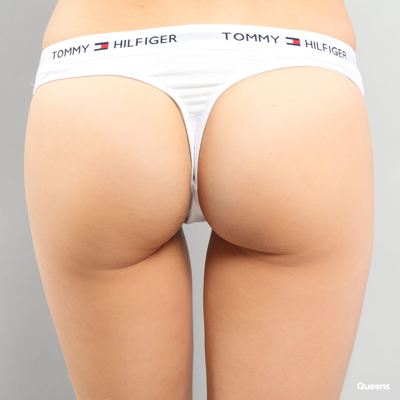 Tommy Hilfiger Cotton Thong Iconic C/O white