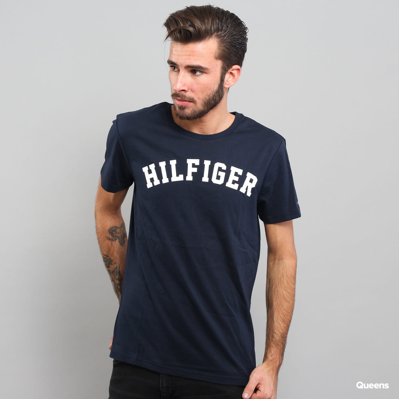 Tommy Hilfiger SS Tee Logo C/O navy