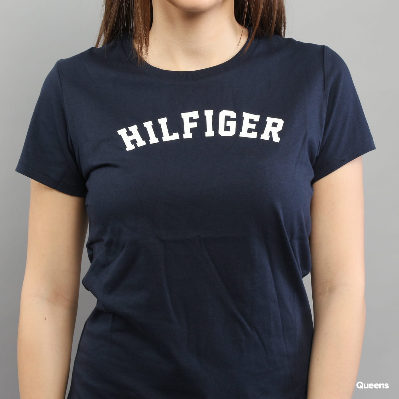 Tommy Hilfiger SS Tee Print C/O navy