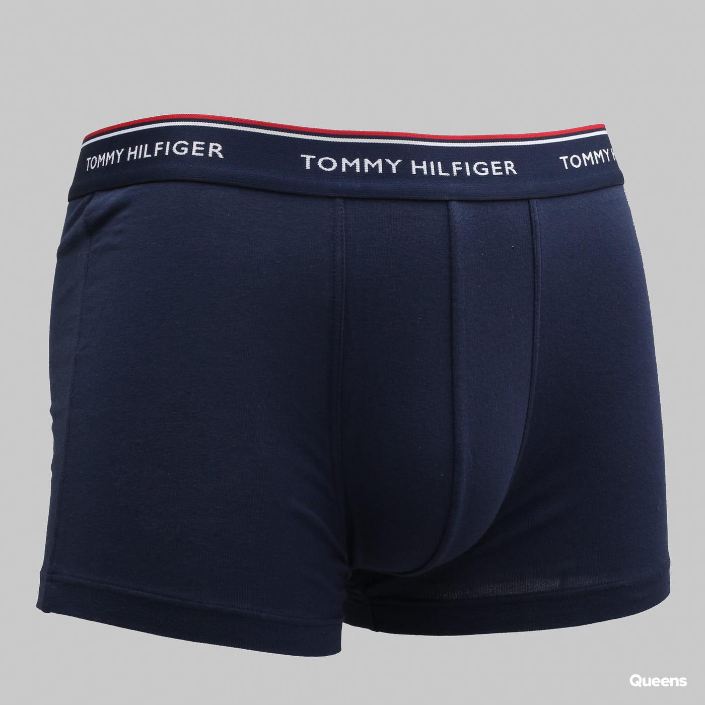 Tommy Hilfiger Trunk 3 Pack Premium Essentials C/O weiß / rot / marine