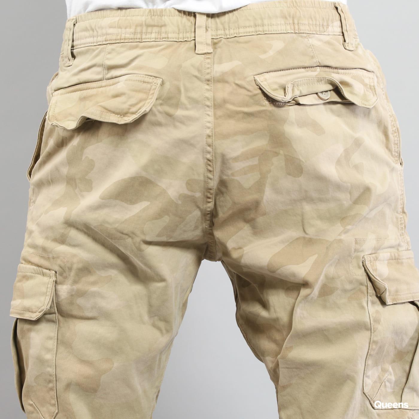 Urban Classics Camo Cargo Jogging Pants camo beige