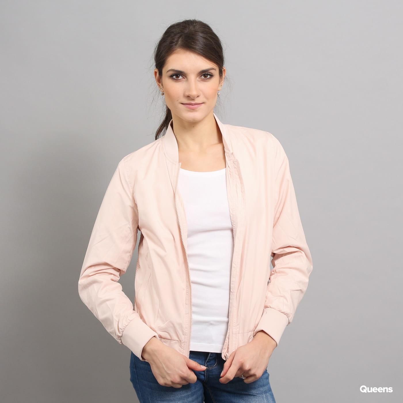 Urban Classics Ladies Light Bomber Jacket pink