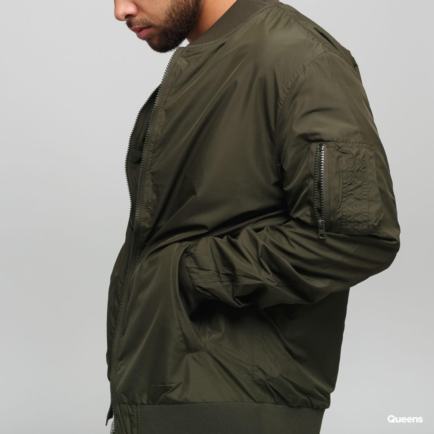 Urban Classics Light Bomber Jacket dark olive