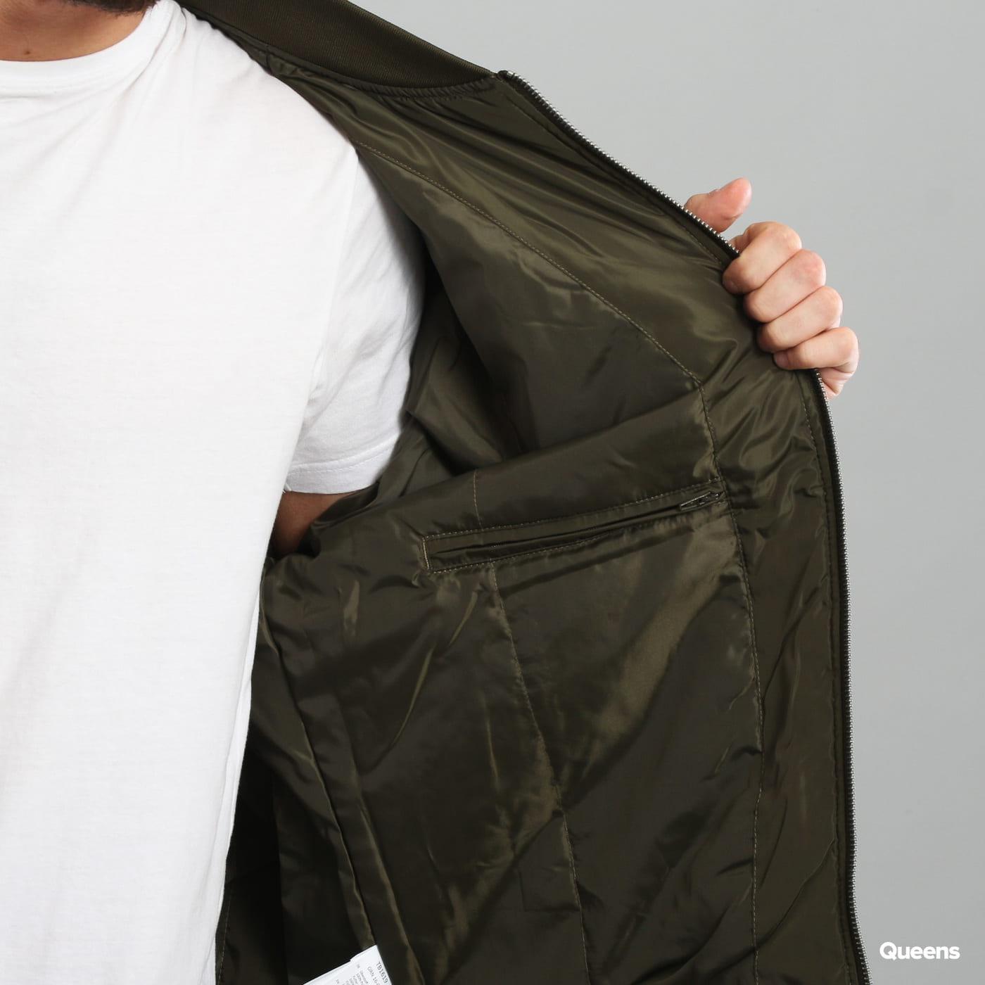 Urban Classics Oversized Bomber Jacket dark olive