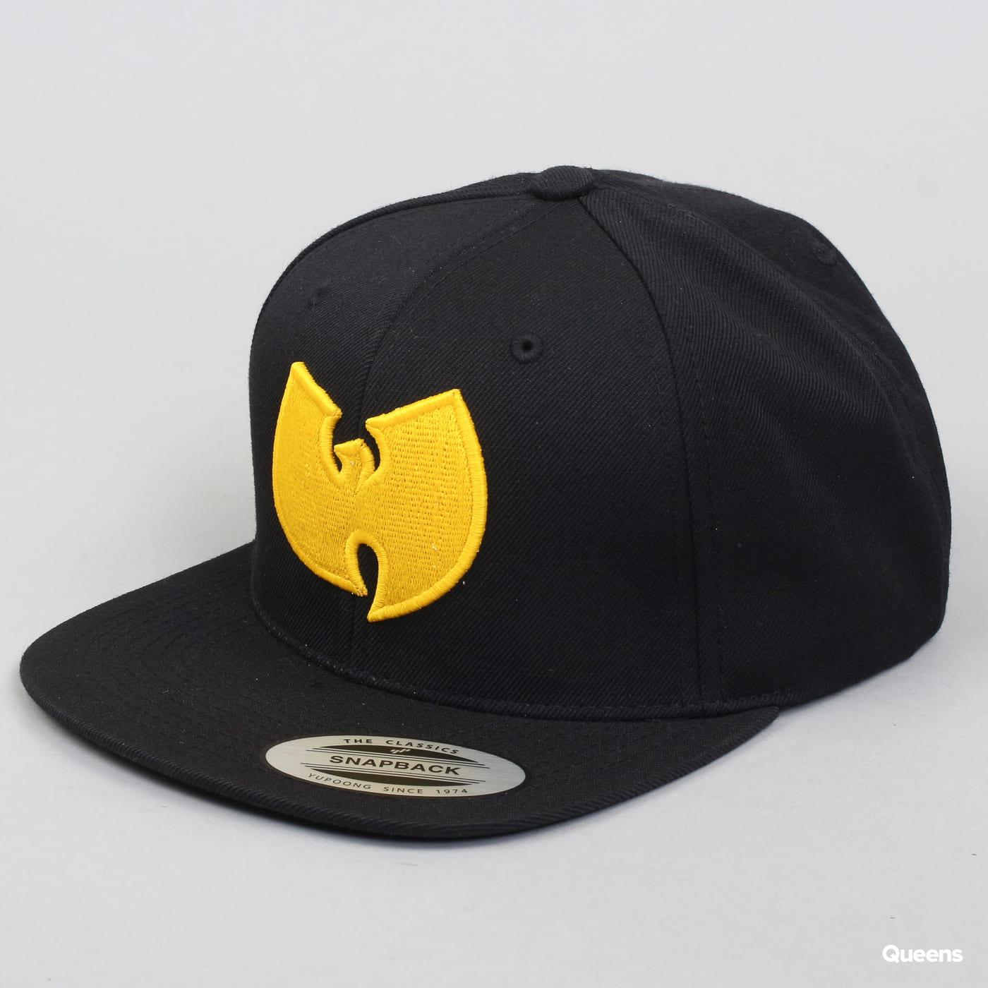 Yupoong Wu-Wear Logo Cap schwarz