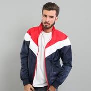 Urban Classics Arrow Zip Jacket navy / červená / bílá