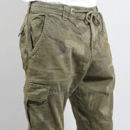 Urban Classics Camo Cargo Jogging Pants camo zelené