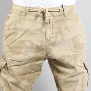 Urban Classics Camo Cargo Jogging Pants camo béžové