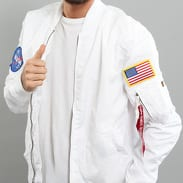 Alpha Industries MA - 1 TT Nasa Reversible bílá