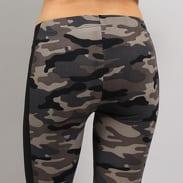 Urban Classics Ladies Camo Stripe Leggings camo šedé