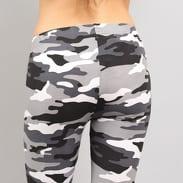 Urban Classics Ladies Camo Leggings camo bílé / černé / šedé
