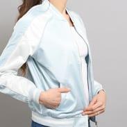 Urban Classics Ladies 3-Tone Souvenir Jacket světle modrá / bílá