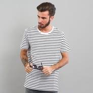 Urban Classics Striped Tee biele / čierne