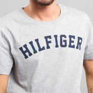 Tommy Hilfiger SS Tee Logo C/O melange šedé