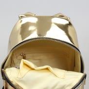 Urban Classics Mini Metallic Backpack zlatý
