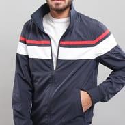 Urban Classics Nylon 3-Tone Jacket navy / bílá / červená