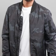 Urban Classics Light Camo Bomber Jacket camo tmavě šedá / černá