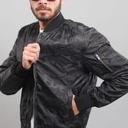 Urban Classics Tonal Camo Bomber Jacket camo černá
