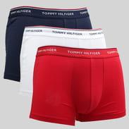 Tommy Hilfiger Trunk 3 Pack Premium Essentials C/O bílé / červené / navy