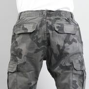 Urban Classics Camo Cargo Jogging Pants camo tmavě šedé