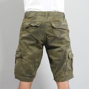 Urban Classics Camo Cargo Shorts camo grün