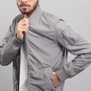 Urban Classics Light Bomber Jacket tmavě šedá
