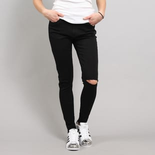 Urban Classics Ladies Cut Knee Pants