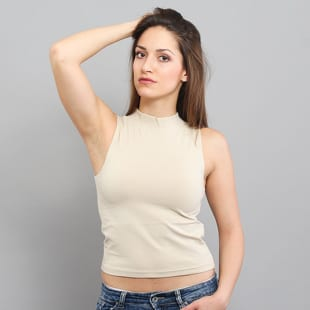 Urban Classics Ladies Turtleneck Short Top