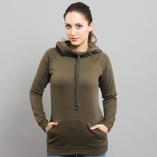 Urban Classics Ladies High Neck Raglan Hoody