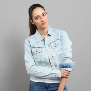 Urban Classics Ladies Short Denim Jacket