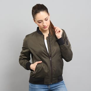Urban Classics Ladies Nylon Twill Bomber Jacket