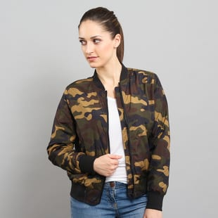 Urban Classics Ladies Light Bomber Jacket Camo