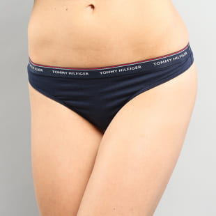 Tommy Hilfiger 3 Pack Thong C/O