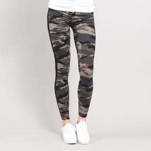 Urban Classics Ladies Camo Stripe Leggings