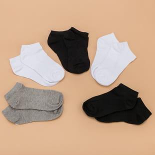 Urban Classics No Show Socks 5-Pack