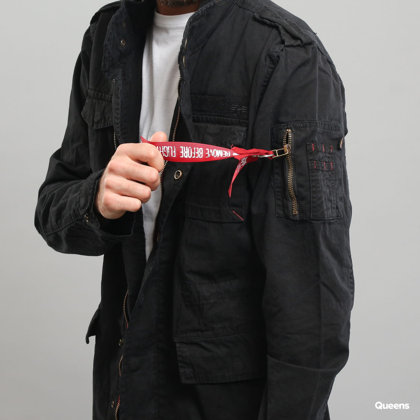 Alpha Industries Huntington schwarz